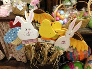 Wood picks for Easter and spring!